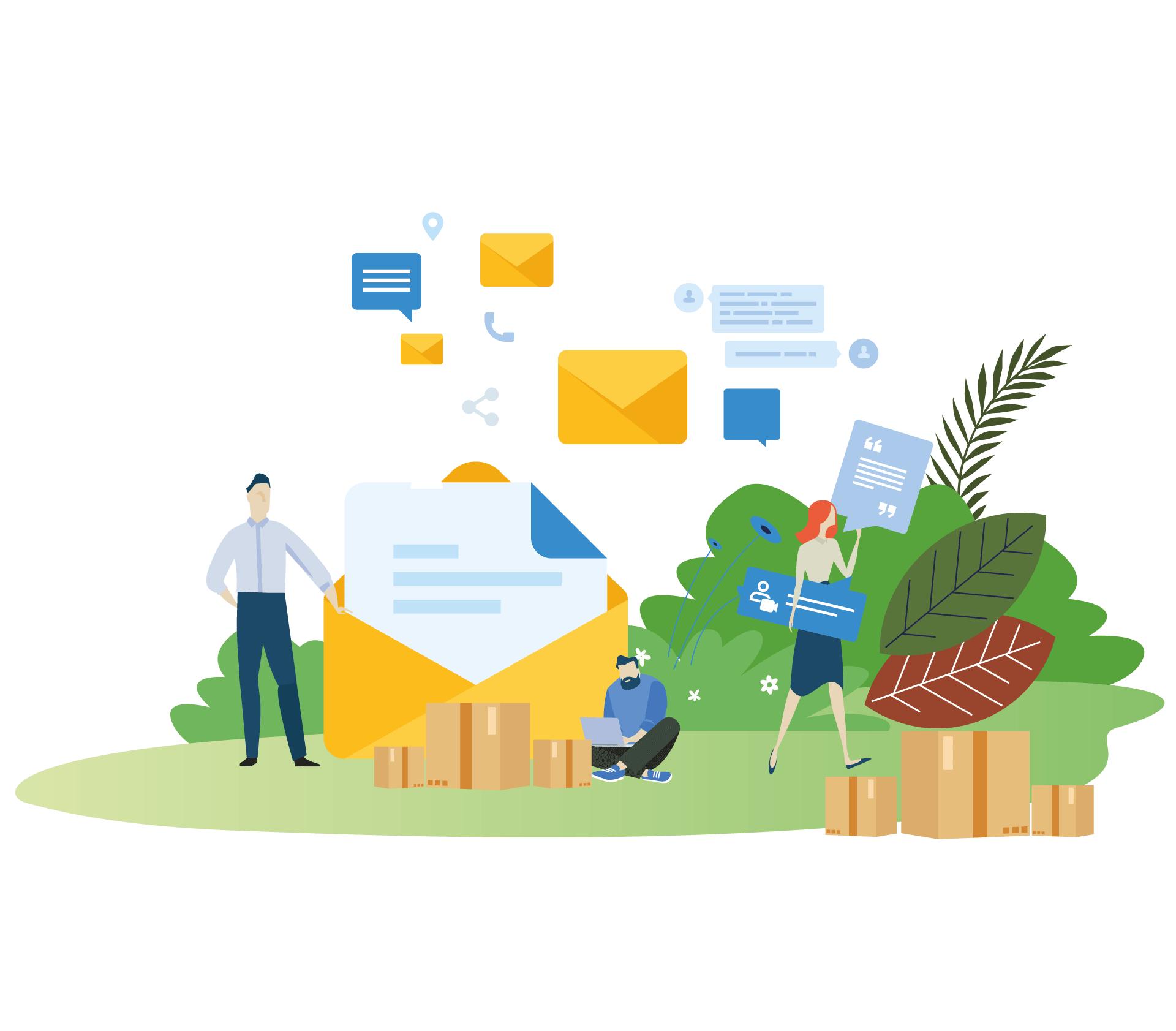 Aanmelden voor Gratis duurzame verzenddozen en meer klanten